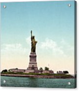 Statue Of Liberty, C1905 Acrylic Print
