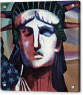 Statue Of Liberty Hb5t Acrylic Print