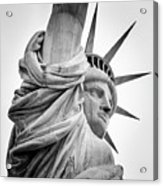 Statue Of Liberty, Lateral Portrait Acrylic Print
