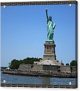 Statue Of Liberty New York America July 2015 Photo By Navinjoshi At Fineartamerica.com  Island Landm Acrylic Print
