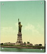 Statue Of Liberty, New York Harbor Acrylic Print