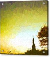 Statue Of Liberty - Nyc Acrylic Print