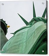 Statue Of Liberty, Torch And Crown Acrylic Print