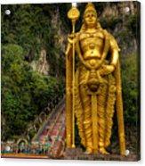 Statue Of Murugan Acrylic Print