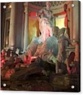 Statues At Ceasars Palace Acrylic Print