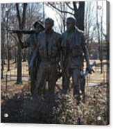 Statues Of War Acrylic Print