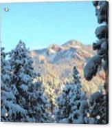 Staunton Mountain Acrylic Print by Steven Michael