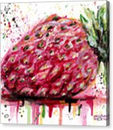 Stawberry 1 Acrylic Print