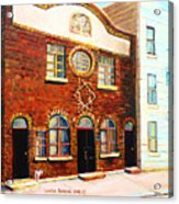 St.dominique Street Synagogue Acrylic Print