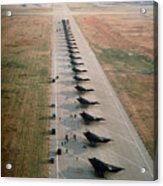 Stealth Fighters 37 Tactical Fighter Wing Acrylic Print