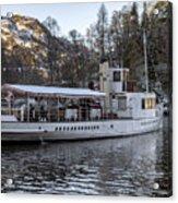 Steam Boat On Loch Katrine Acrylic Print