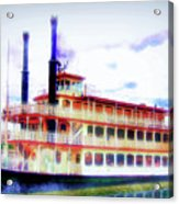 Steam Boat Acrylic Print