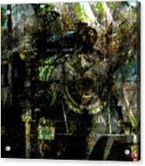 Steam Engine At Bay Acrylic Print