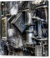 Steam Engine Detail Acrylic Print