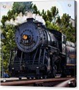 Steam Engine Of Cumberland Acrylic Print