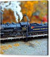 Steam Engine Tilt Shift Acrylic Print