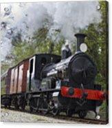 Steam Locomotive 3298 In Cornwall Acrylic Print