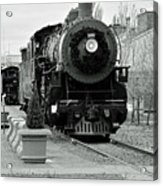 Steam Train Acrylic Print