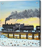 Steam Train One From Mike Massee Photo Acrylic Print