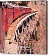 Steam Train Wonder.. Acrylic Print