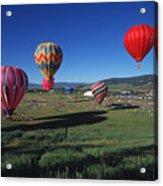 Steamboat Springs Balloon Festival Acrylic Print
