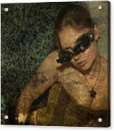 Steamgirl Acrylic Print