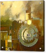 Steaming Up Mining Country Acrylic Print