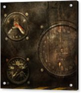 Steampunk - Check Your Pressure Acrylic Print