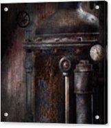 Steampunk - Handling Pressure  Acrylic Print