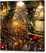 Steampunk - Naval - The Torpedo Room Acrylic Print