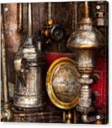 Steampunk - Needs Oil Acrylic Print