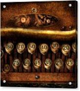 Steampunk - Remuneration Mechanism Acrylic Print