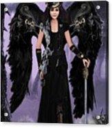 Steampunk Angel Acrylic Print by Melodye Whitaker