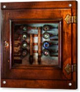 Steampunk - Electrical - The Fuse Panel Acrylic Print by Mike Savad