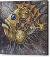 Steampunk Fish A Acrylic Print