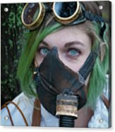 Steampunk Girl Acrylic Print