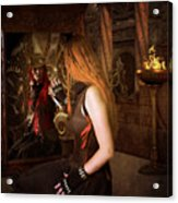 Steampunk Mirror Acrylic Print