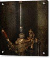 Steampunk - Plumbing - Number 4 - Universal  Acrylic Print