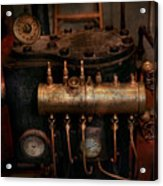 Steampunk - Plumbing - The Valve Matrix Acrylic Print