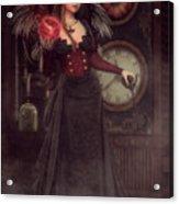 Steampunk Warlock Acrylic Print