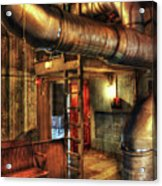 Steampunk - Where The Pipes Go Acrylic Print