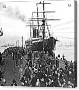 Steamship In Japan Acrylic Print