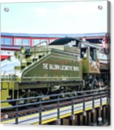 Steamtown Engine 26 Acrylic Print