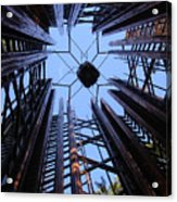 Steel And Sky Acrylic Print