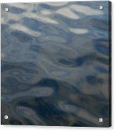 Steel Blue Acrylic Print