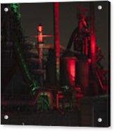 Steel Christmas Acrylic Print