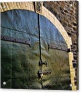 Steel Doors Acrylic Print