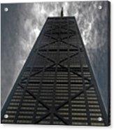 Steel Grey Skyrise Chicago Acrylic Print