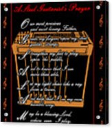 Steel Guitarist's Prayer_2 Acrylic Print by Joe Greenidge