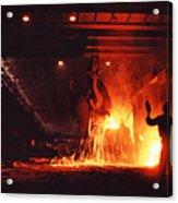 Steel Mill--china Acrylic Print